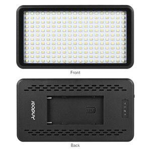 Image 4 - Andoer Ultra thin 3200K/6000K LED Light Panel Lamp Studio Video Photography 228pcs Bead for Canon Nikon DSLR Camera DV Camcorder