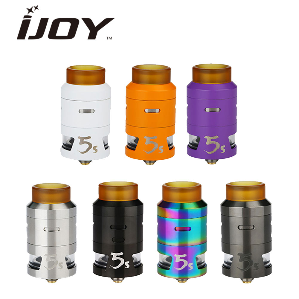 Купить Original Ijoy RDTA 5s Tank 2.6ml Capacity Top Fill Aiflow Vape Tank RDTA Atomizer for IJOY Captain pd270 Mod vs Ijoy RDTA 5 tank в Москве и СПБ с доставкой недорого