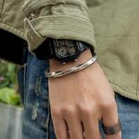Viking bracelet hommes/bracelets en or/manchette Viking bracelet/acier Inoxydable/bracelets & bracelets Graver lettre Amour cadeaux pour hommes femmes