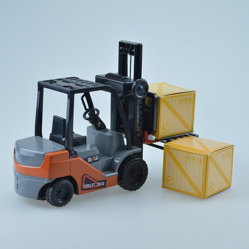 Mini viličar Model Toy inženjering Vozilo Fork Lift Plastični - Dječja i igračka vozila - Foto 2