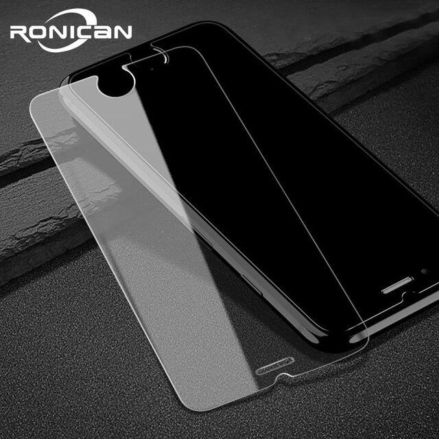 Temperli cam iPhone 7 8 6 6s artı ekran koruyucu için iPhone XR X XS 11 Pro Max 5 5S 5C SE 4 4s cam Film kapak kılıf