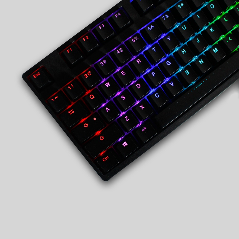 Translucent keyboard luminescence dating