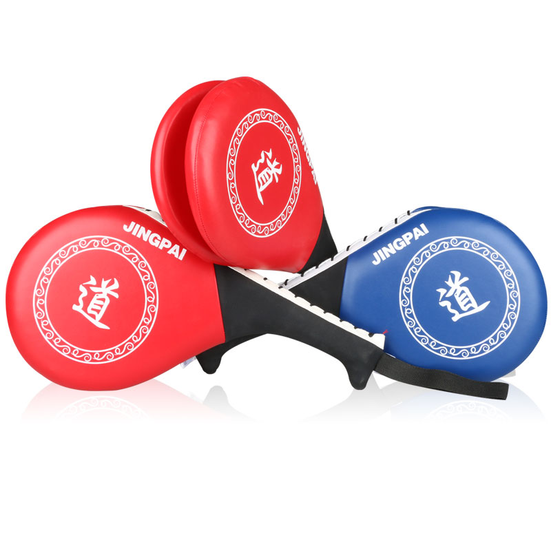 Authentic Taekwondo Men's solid kick boxing target practice