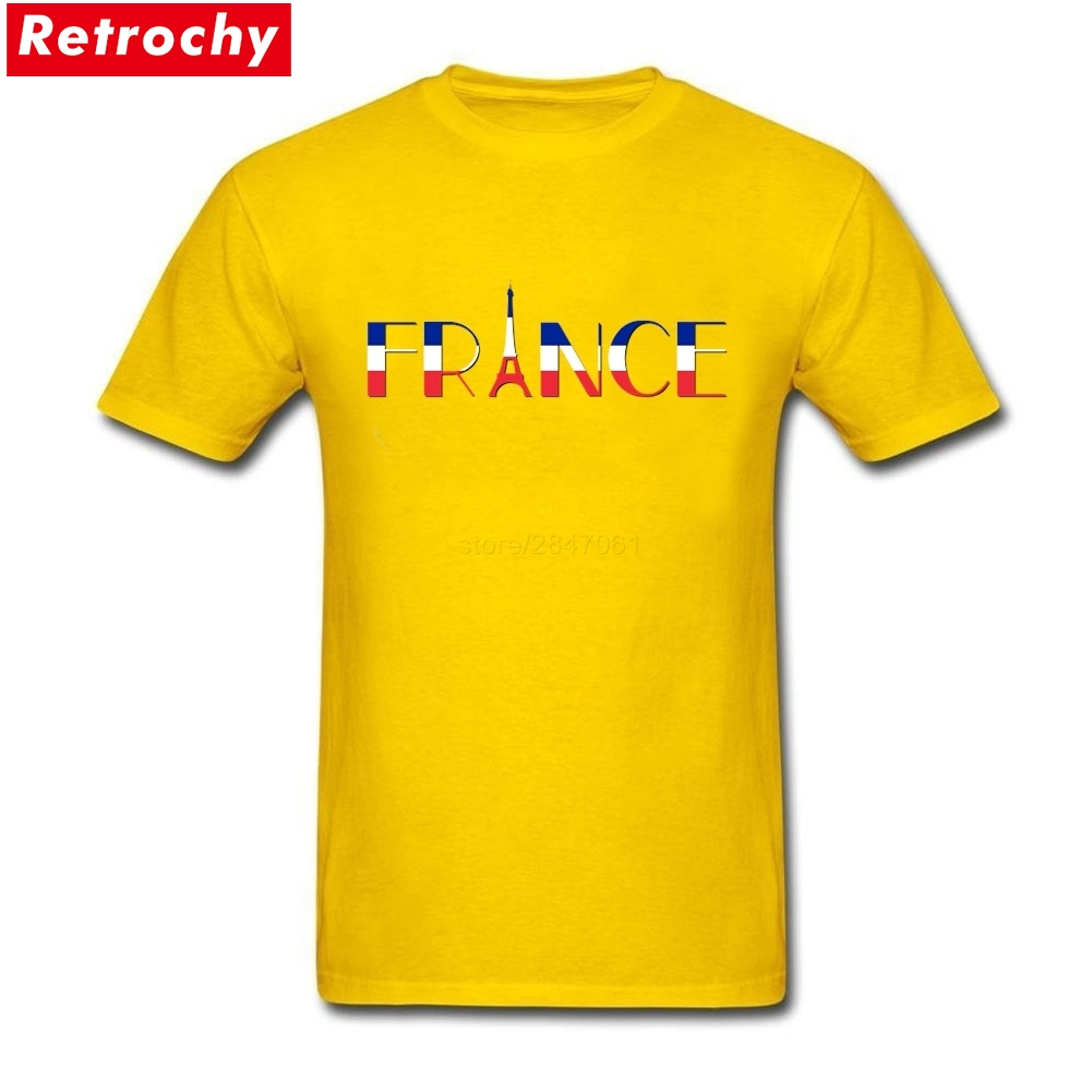 7437163296 The Eiffel Tower T Shirt Men 2019 New Fashion French Flag Tees Short Sleeve  Male T shirts Big Size France Letter Design-in T-Shirts from Men's Clothing  on ...