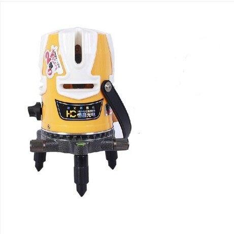 8 lignes 1 point (4V4H1D) niveau laser croisé niveau laser rotatif Horizontal + trépied spot