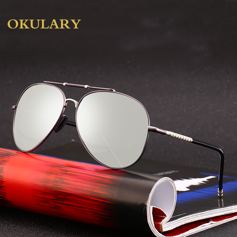 8dffa8741d 2018 new Driving Photochromic Sunglasses Men Polarized Chameleon  Discoloration vintage Sun glasses for women oculos de sol cool-in Sunglasses  from Men s ...
