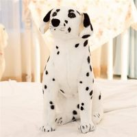 simulation animal about 50cm squatting spotted dog plush toy Dalmatian toy doll gift w4149