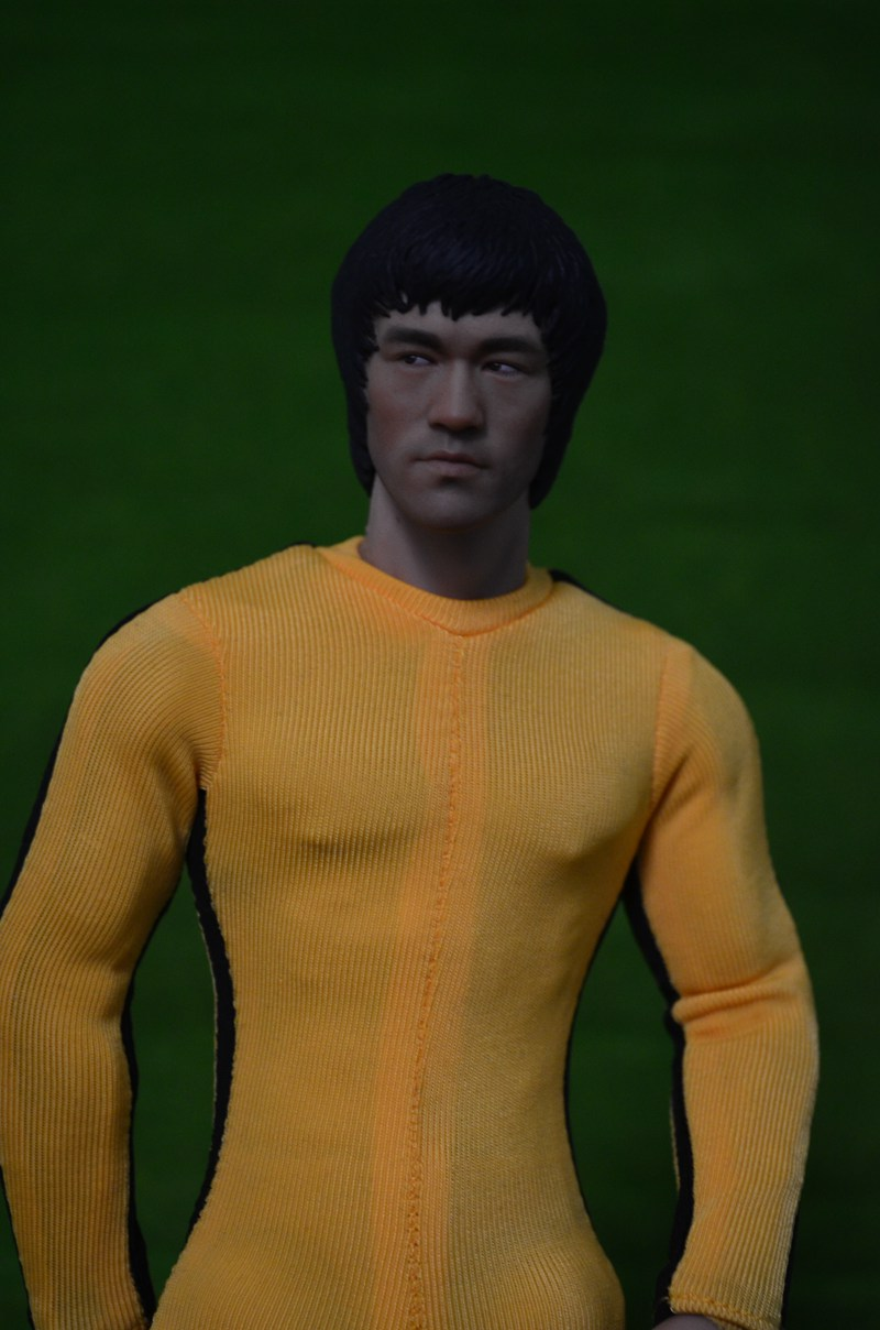 1/6 scale Collectible figure doll Game of Death Bruce Lee with Nunchakus 12 action figure doll Plastic Model Toys . NO BOX 1 6 scale figure doll black detective 12 action figure doll collectible figure plastic model toys no box