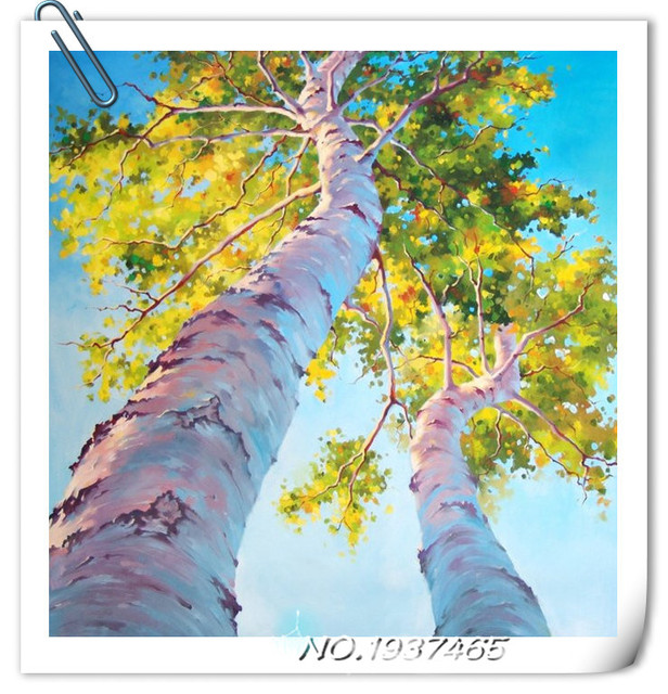Picture of rhinestones Look up tree diamond painting diy gifts cross ...