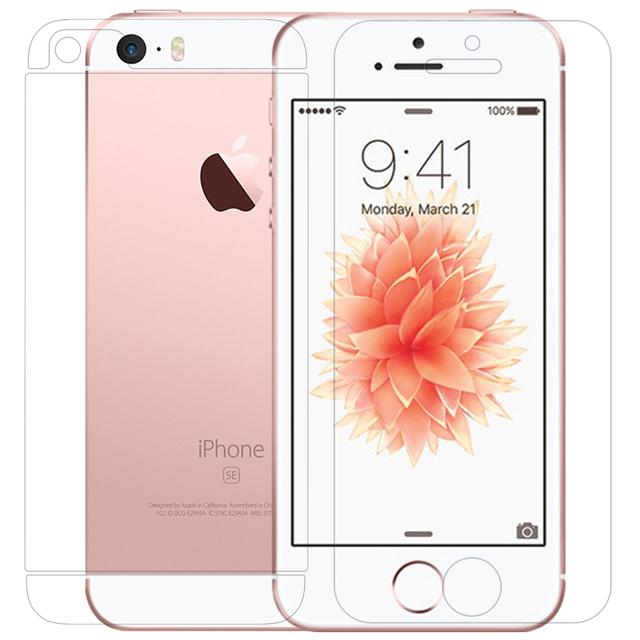 Para el iphone de Apple SE 5S Película Protectora Nillkin PE + Azul luz Resistente Protector de Pantalla de Cristal Templado Para el iphone 5S Sí 5Se