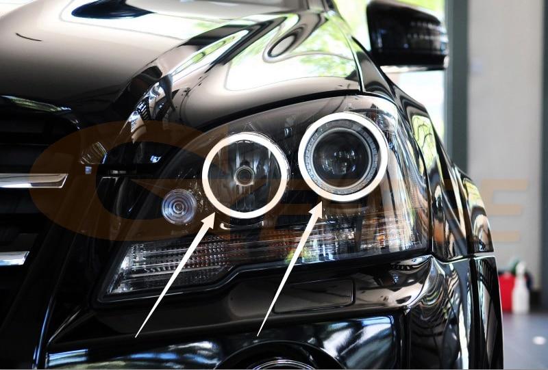 NO LOGO FJJ-CSZS Manija de Puerta del Cromo Cubierta for el Mercedes Benz Clase ML W163
