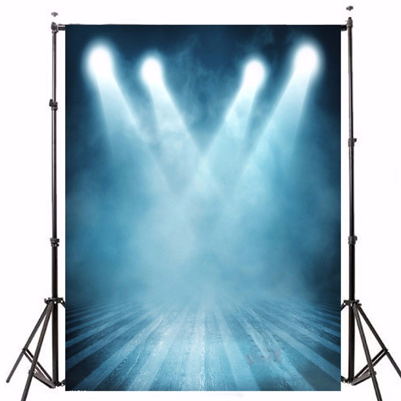 5X7FT Vinyl Photography Background Stage Lighting Photographic Backdrops For Studio Photo Props cloth 2.1 x 1.5m waterproof top deals photography backdrops background vinyl photo studio indoor screen props 5x7ft