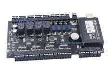 Ip 기반 도어 액세스 제어 패널 tcp ip 및 rs485 zk c3 400 내장 보조 입력 및 출력 4 도어 컨트롤러