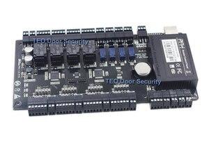 Image 1 - Kontrola dostępu do drzwi na bazie IP Panel TCP IP i RS485 zk c3 400 wbudowany pomocniczy kontroler wejścia i wyjścia z czterema drzwiami
