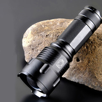 CREE XML T6 LED Flashlight Lampe Torche Militaire Powerful Tactical Flashlight Cree xm l t6 Lamp by 26650 Rechargeable Battery