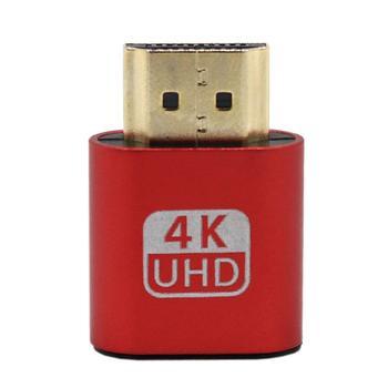 Exquisitely Designed Durable VGA Virtual Display Adapter HDMI 1.4 DDC EDID Dummy Plug Display Emulator Play