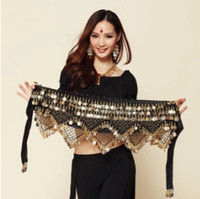 New Style coins belly dance waist chain hip scarf bellydance belt, 9 colors for your choice.
