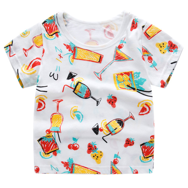 T-Shirts for Boys and Girls with Various Prints