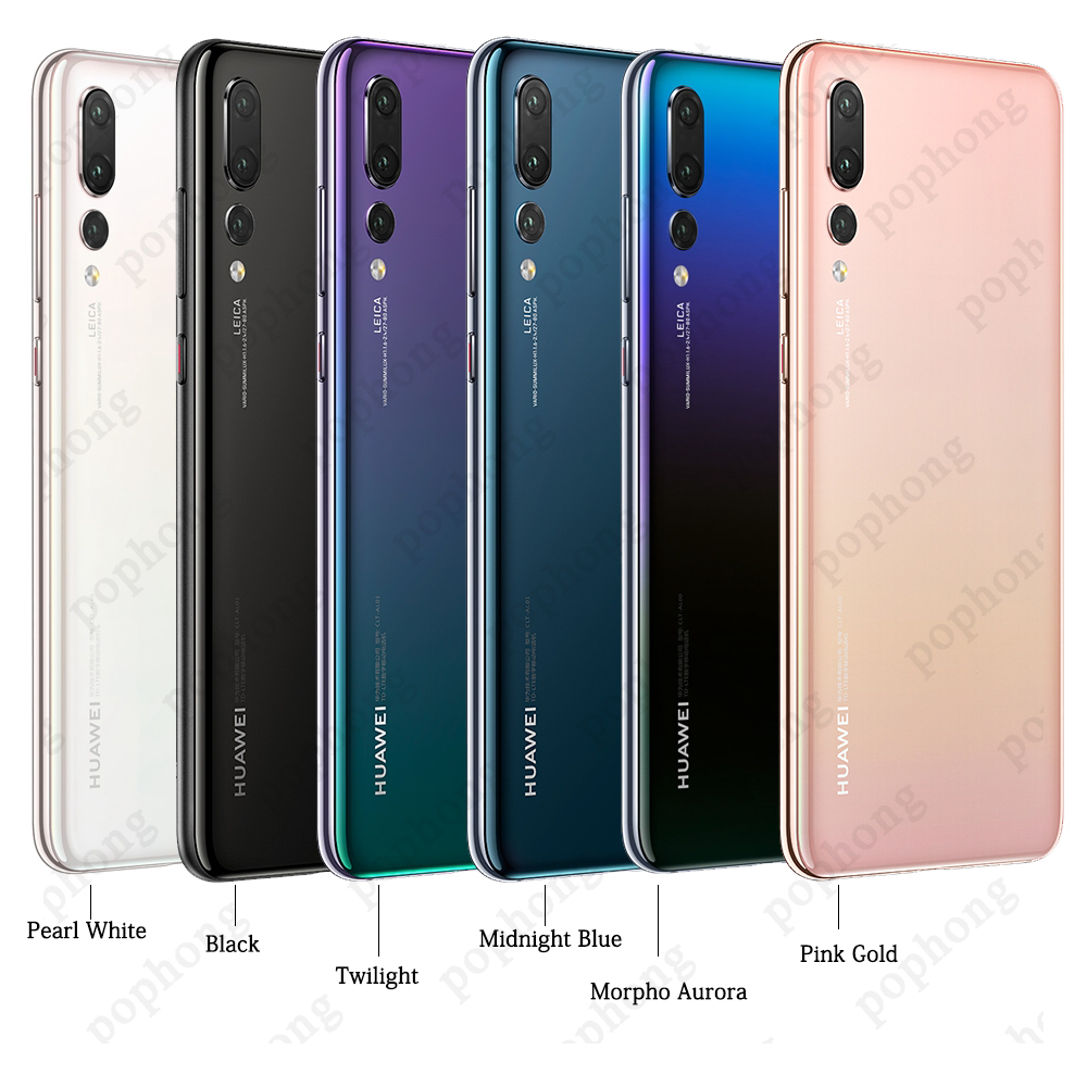 Global version optional Huawei P20 Pro AI Smartphone IP67 Waterproof Triple  Rear Cameras Full View Screen NFC Android 8 1