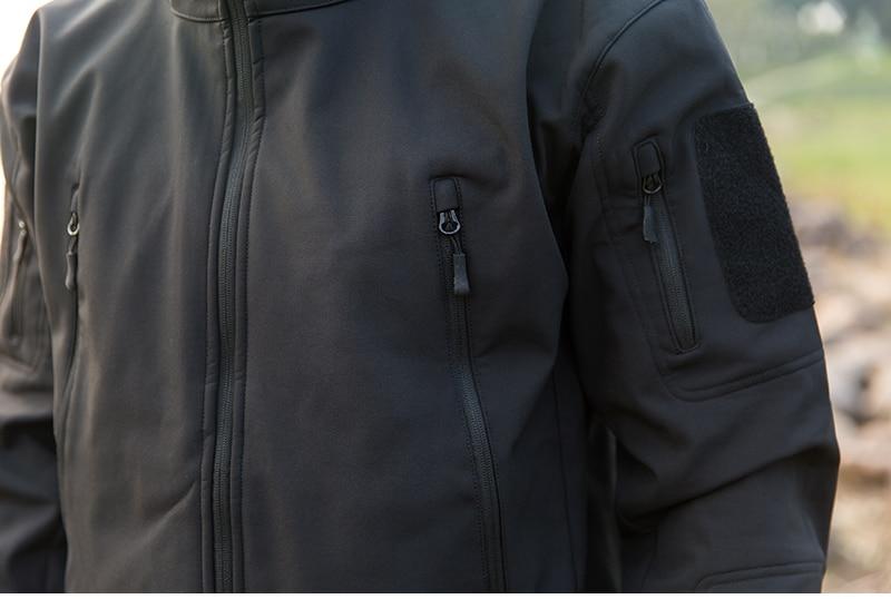 HTB1VA .juOSBuNjy0Fdq6zDnVXaw - ReFire Gear Navy Blue Soft Shell Military Jacket Men Waterproof Army Tactical Jacket Coat Winter Warm Fleece Hooded Windbreaker
