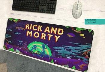 Rick Und Morty Pad Maus Geschenke Computer Gamer Maus Pad