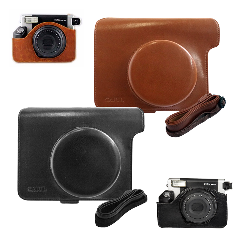 Carry Shoulder Strap Bag Case Cover Sleeve Shell For Fujifilm Instax Wide 300 Instant Film Camera Fuji