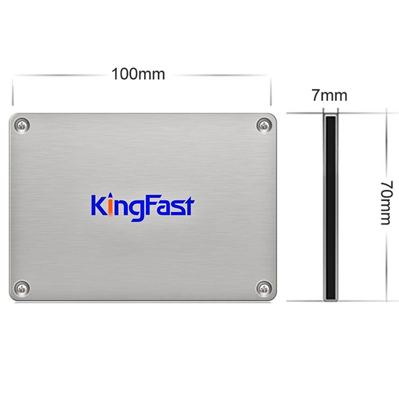 KingFast F9 SSD 128GB 256GB SATA 3.0 6Gb/s 2.5 Inch Solid State Drive 7mm Internal SSD Hard Disk