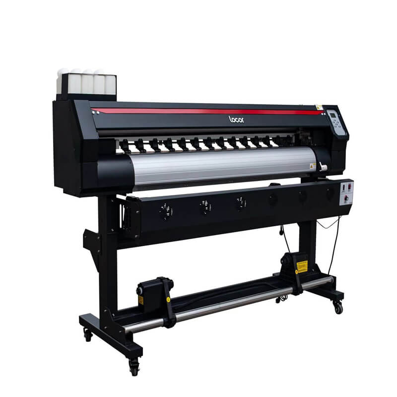 Locor 1.6M Wide Format Banner Printer Digital Printer Xp600 Single Head 1440 Resolution Flex Printer Plotter 5 Feet 160Cm