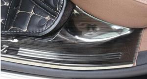 Image 4 - لمرسيدس بنز جديد E Class عتبة E200L E300L الديكور لاصق ترحيب دواسة دواسة تعديل الديكور الداخلي