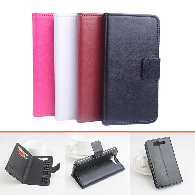 High Quality Pattern Leather flip Case for Philips W737 Leat