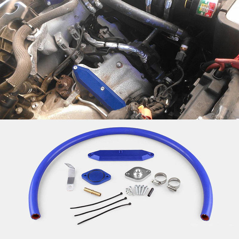 цена на New Coolant Filtration System Filter Kit for Ford F-250 F-350 F-450 6.7L Powerstroke Diesels 11-14 CSL2018