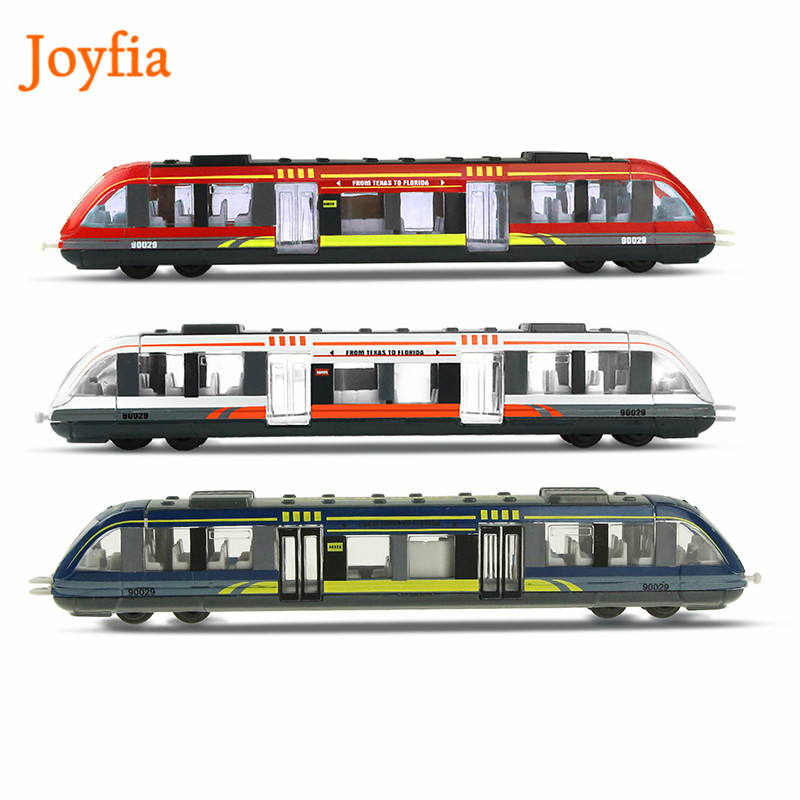 Simulation Alloy Metal High Speed Rail Diecast Train Toy Model Educational Toys Boys Children Collection Gift #(China)