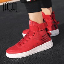 MumuEli Red White Gray Black 2019 High Top Quality Shoes Men Breathable Casual Designer Fashion Luxury Flat Male Sneakers K50