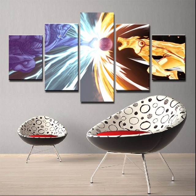 Naruto Character Modern Frames For Paintings Picture Kids Room Poster