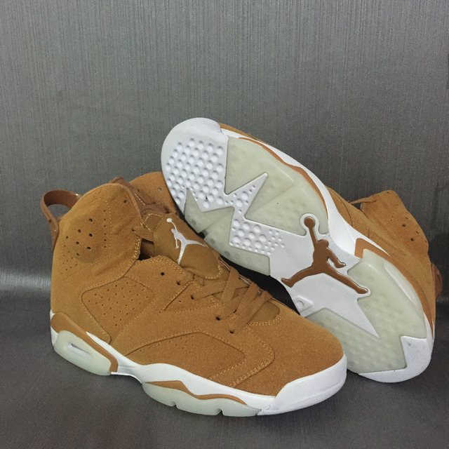 a240d6985af JORDAN 6 Basketball Shoes AJ6 Low help JORDAN Sneakers Gatorade wheat color  Men Basketball Shoes Jordan 6 size:40-47
