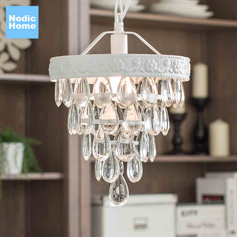 Loft Modern Crystal Chandelier Light for dining room led crystal chandeliers round lamp crystal K9 E14 pendant Lamp chandelier vintage birdcage crystal chandelier lighting black rustic bird cage pendant hanging light chandeliers lamp for dining room bar