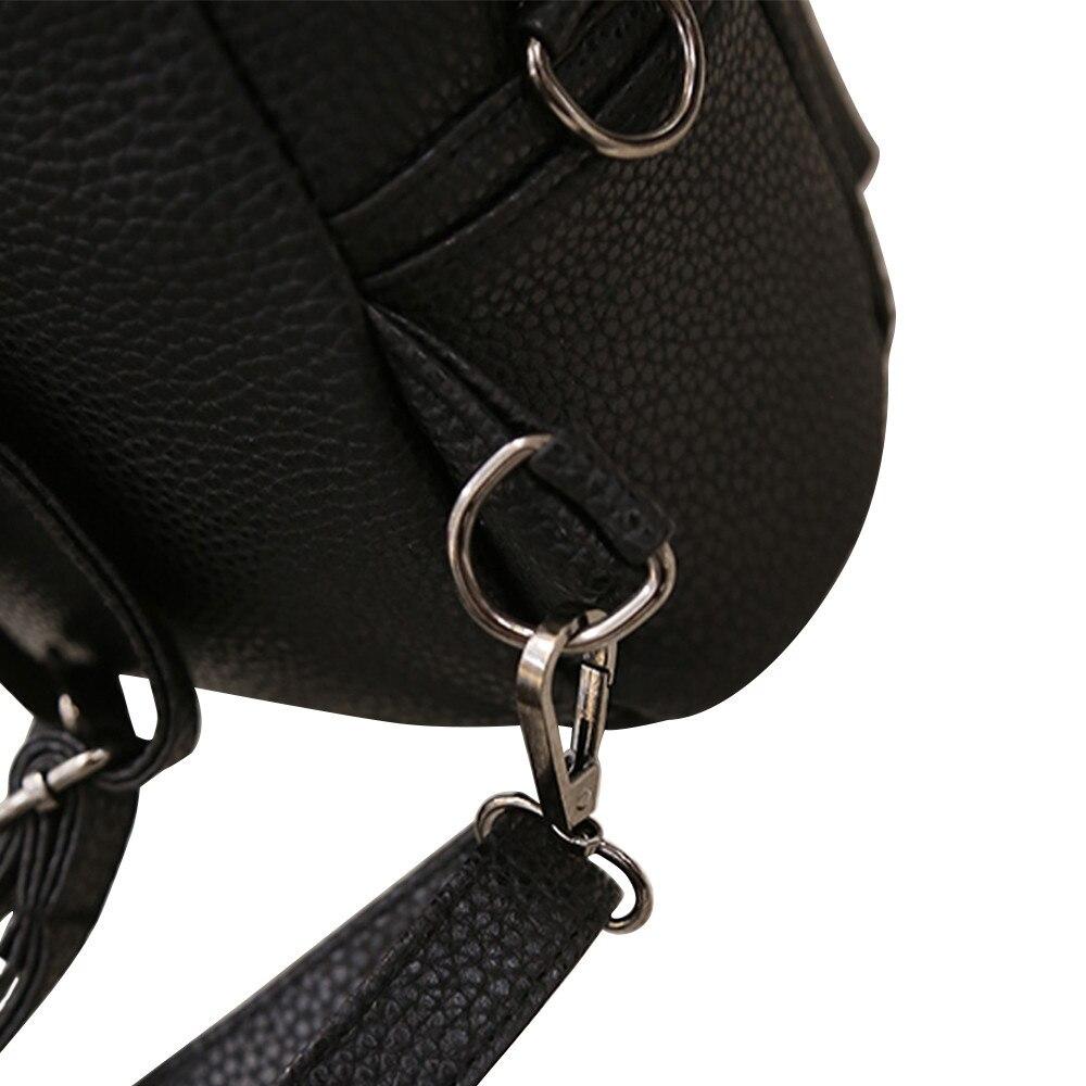 HTB1VAbUt4uTBuNkHFNRq6A9qpXaB 2018 New Mickey Backpack Pu Leather Female Mini Bag Women's Backpack Sweet Bow Teen Girls Backpacks School Lady Bag Shoulder bag