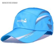 HANGYUNXUANHAO 2019 Fashion New Summer Baseball Cap Men Breathable Quick-Drying Mesh Hats Women Sunshade Caps