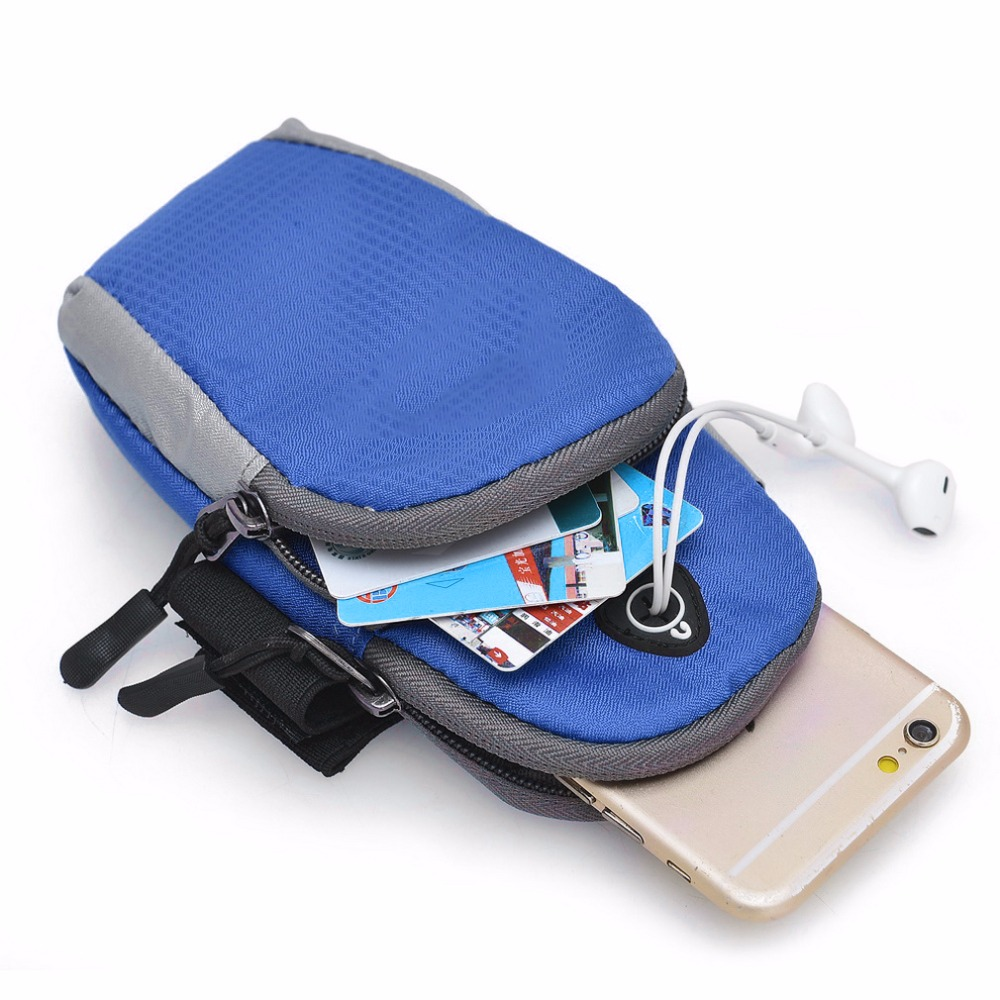 Relojes Y Joyas Careful 5.5 Universal Nylon Mobile Phone Armband Outdoor Gym Sports Running Gear Wrist Bag Arm Set Case Cover For Iphone 4 5 6s Samsung