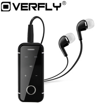 New Stereo Sport Bluetooth Headset Earphones Headphones Microphone Clip-ON Headset Lavalier Microphone for iPhone Xiaomi