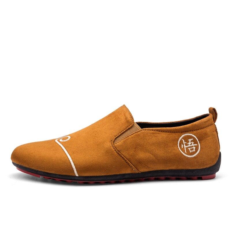 9fd2da8b30769 QWEDF 2018 nueva marca de moda de gran tamaño 11 zapatillas de deporte  mocasines zapatos para jóvenes Zapatos casuales de cuero genuino zapatos XX  040 en ...