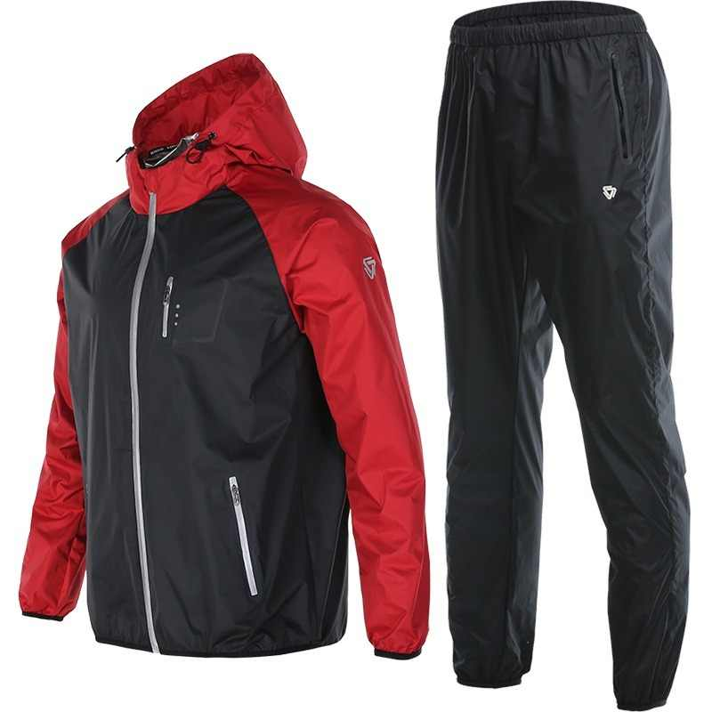 d48019e935bfb Vansydical deportes trajes para hombres y mujeres ropa de gimnasio  corriendo conjunto Fitness perder peso entrenamiento