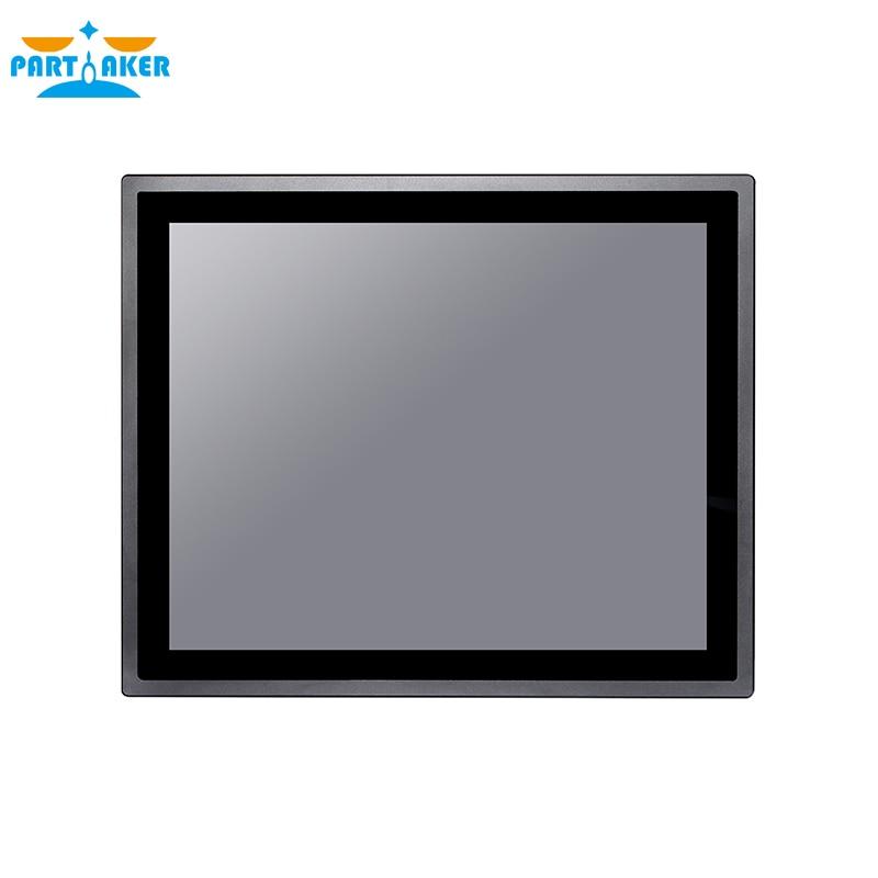 Z19 17 Inch All In One PC Waterproof Ip65 Industrial Computers Intel Core I7 4600U 4G RAM 64G SSD