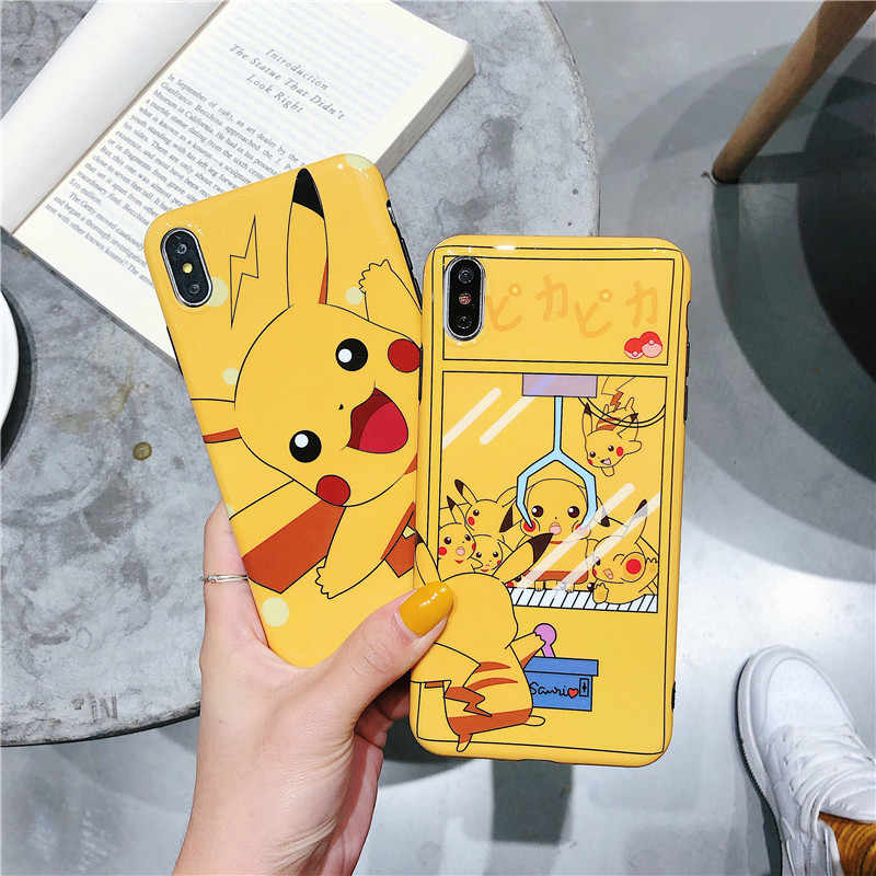 Cartoon Pikachues Phone Case for Huawei Honor 10 V20 P20 P30 Mate 20 Pro Fashion Soft IMD Covers For Huawei Nova 2s 3 3i 3E 4 4E