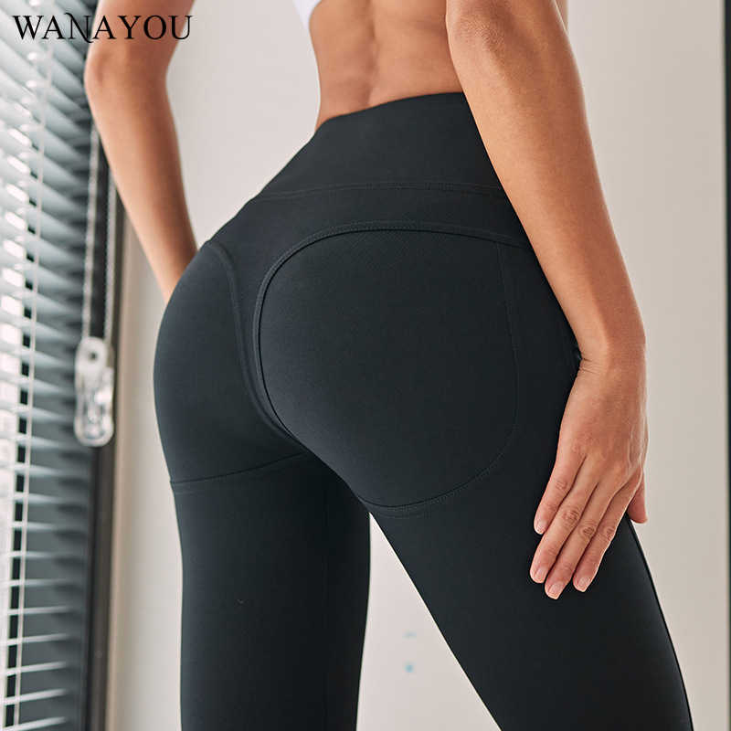 bc13cf51947c6 Detail Feedback Questions about Women Booty Up Sport Yoga Pants Stretchy  High Waist Running Fitness Leggings Hip Push Up Yoga Tights Sport Legging S  L on ...