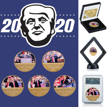 Donald J. Trump 2020 Keep America Great  Challenge Coin 24K Gold Plated Collection Coins for Business Gift for Father donald j young personal notes