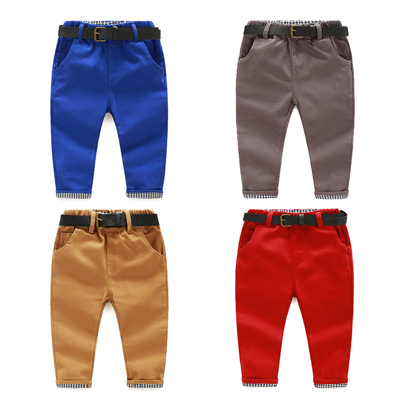 7 Color New Toddler Boys Casual Pants Boy Spring Autumn