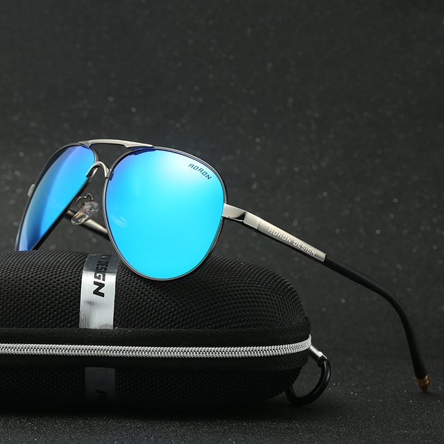 Polarized Sunglasses Fashion Style Sun Glasses for Men/Women Vintage Brand Design UV400 Customizable prescription glasse 8503