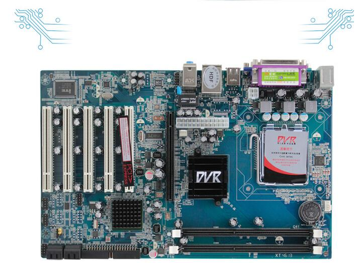ФОТО New motherboard DVR G41 security monitoring systems, 5 * PCI