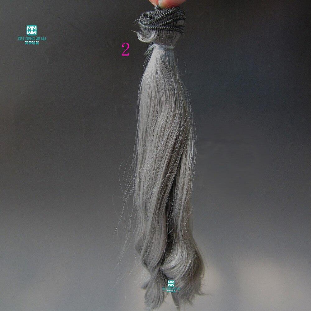 1kom 20cm * 100cm Veliki valovi kovrče Doll perika Pribor kose za - Lutke i pribor - Foto 5